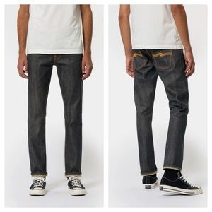 Nudie Grim Tim Dry Stretch Selvedge Jeans 36WX29L